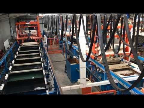 A Gilligan (Coatings) Ltd: Largest Zinc Nickel Barrel Electroplating Line in the UK