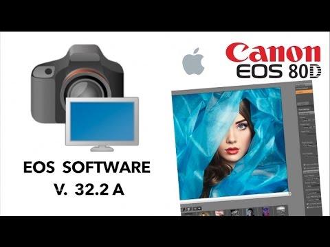 EOS software 32 2A - CANON EOS 80D
