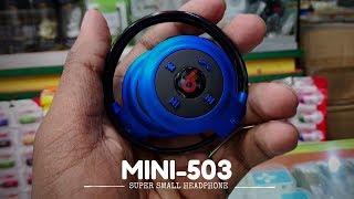 Mini 503 Bluetooth Wireless Headphones Super Small Headphone