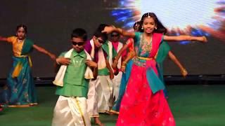Chinna Machan Dance By Kids - Annual Day 2019 - Vijay Vikas - CBSE - Erode.