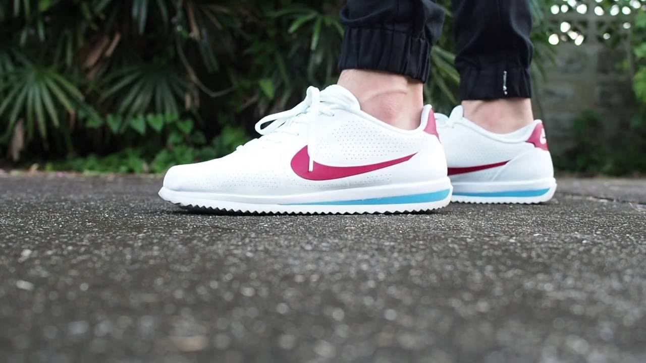Nike Cortez Ultra (Forest Gump) on feet