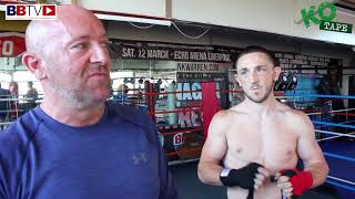 JAZZA DICKENS AND HIS DAD ON THE FIGHT CHANGE FROM TOMMY WARD TO BROTHER MARTIN WARD
