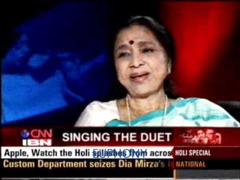 Asha Bhosle speaking about making of NAHI NAHI