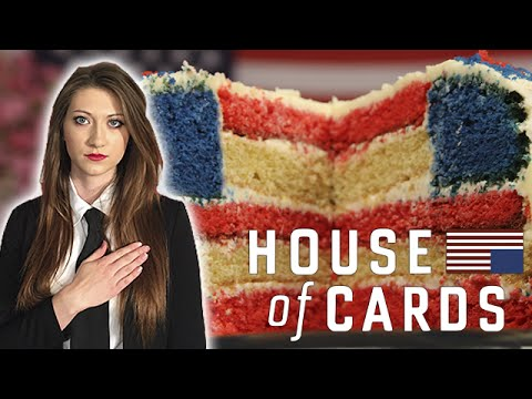 House Of Cards - Patriotic American Flag Cake | TV Dinners