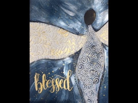 Blessed- 2018 Word of the Year - Art Journal Tutorial
