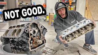 MORE surprises with Brian's LS engine..