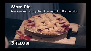 Let's Bake in Cosplay with a Baby - Mom Pie - Thick, Flaky, Yummy Pie Crust