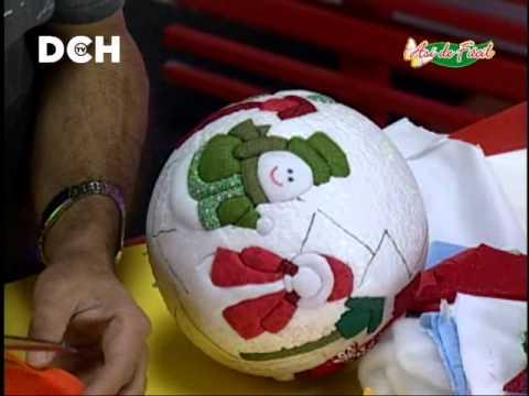 Esfera navide a con t cnica psa youtube - Esferas de navidad ...