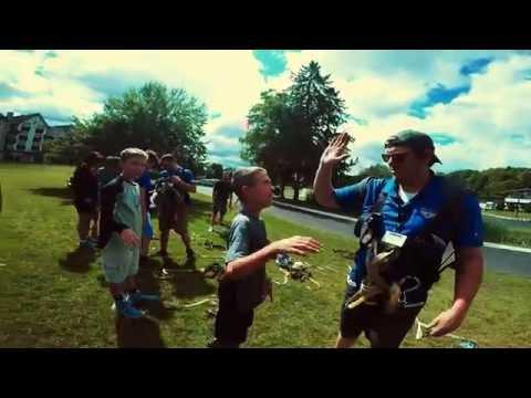 Boyne Mountain Zipline Tour 2016