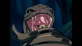 Naruto gets eaten by a giant Snake | Naruto