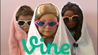 Iconic Vine Compilation with American Girl Dolls (AGSM remakes)