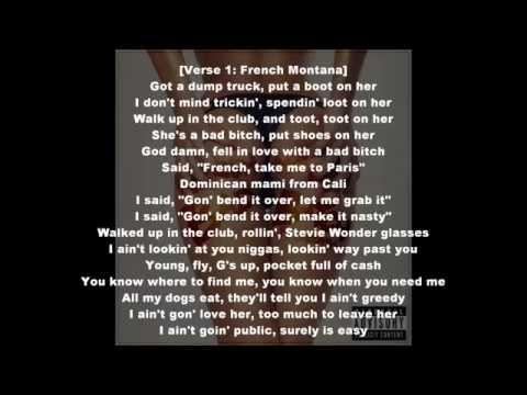 French Montana Song Lyrics | MetroLyrics