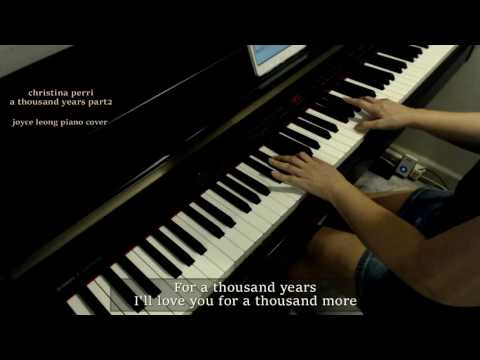 Christina Perri  A Thousand Years Part 2  Piano  & Sheets