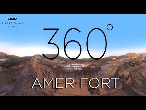 Amer Fort Jaipur | Rajasthan | 360° Video - Rajasthan Tourism
