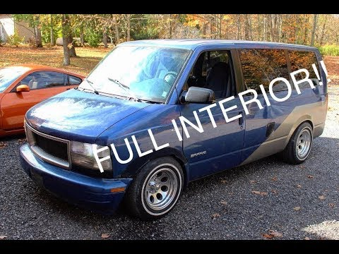 Chevy Astro Gets Full Interior!!!