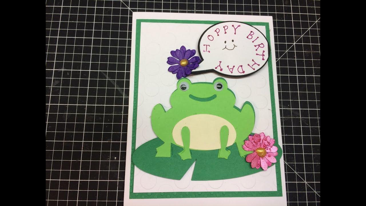 Hoppy birthday frog happy birthday card youtube hoppy birthday frog happy birthday card bookmarktalkfo Images