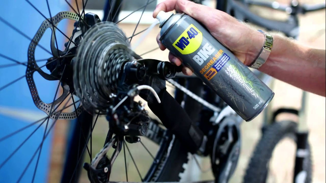 wd 40 bike kettenreiniger kette reinigen mountainbike youtube. Black Bedroom Furniture Sets. Home Design Ideas
