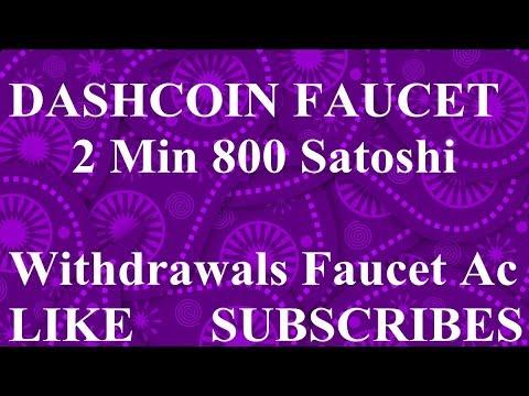 Free DASHCOIN Faucet Site Claim Every 2 Min 800 Satoshi