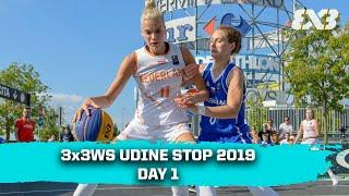 RE-LIVE - FIBA 3x3 Women's Series Udine Stop 2019 - Day 1