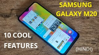 10 COOL FEATURES OF SAMSUNG GALAXY M20
