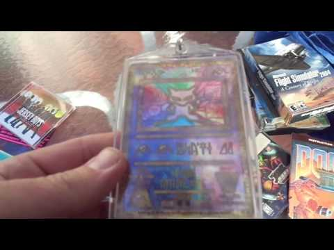Video Games Action figures Jewelry. Flea Market Garage Yard Estate Sale Finds Pick-Ups - 12/2/16