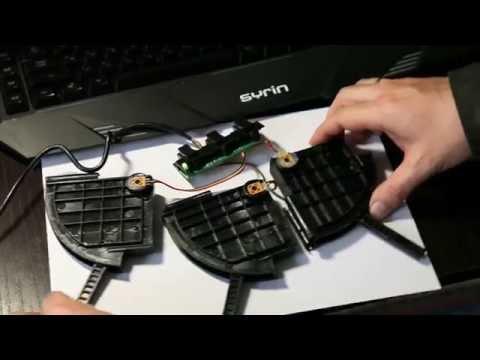 Saitek ProFlight Yoke   Ремонт (обслуживание) резисторов в Throttle Quadrant