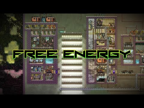 Unlimited Free Energy! Oxygen Not Included