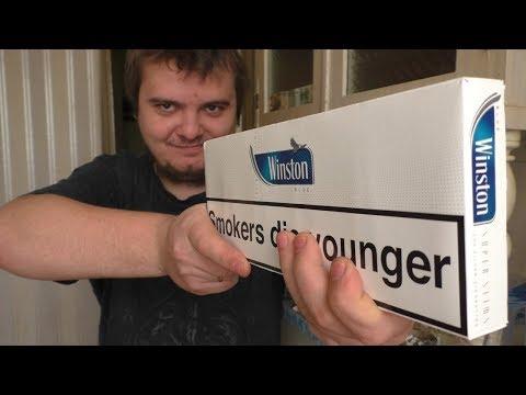Winston по 50 рублей - Обзор безакцизных сигарет