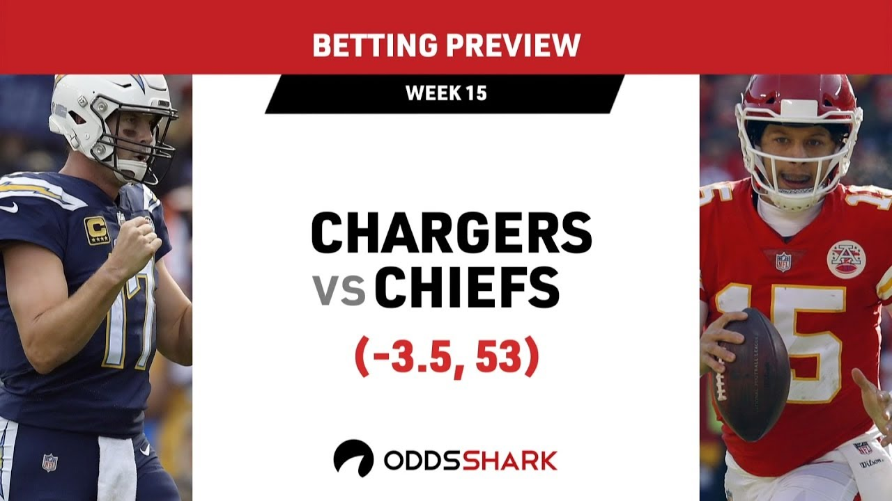 Los Angeles Chargers Vs Kansas City Chiefs Betting Odds And Pick December 13 2018 Odds Shark