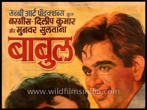 Rare collection of posters of Hindi films from 1940 - 1970
