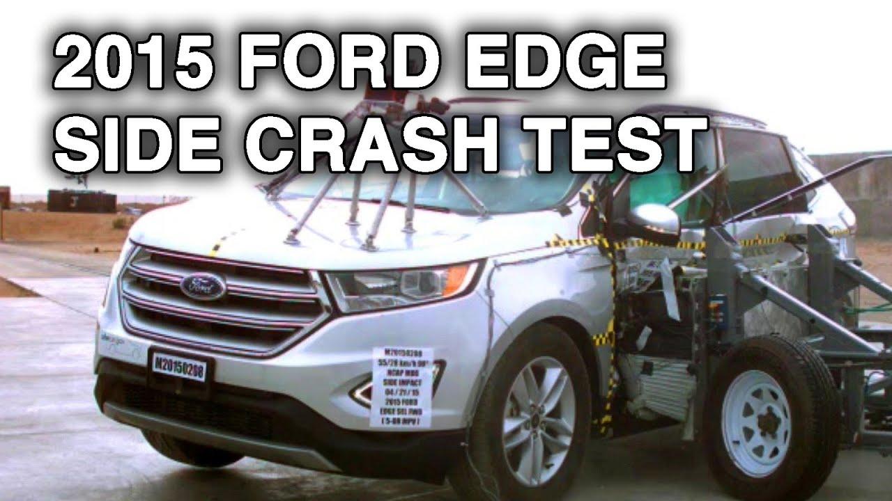 2015 Ford EdgeLincoln MKX Crash Test Side  YouTube