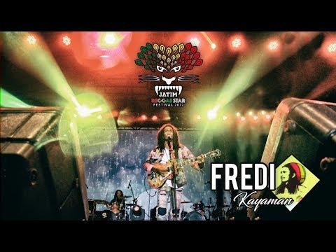 LELAH - Fredi Kayaman live at Jatim Reggae Star Festival