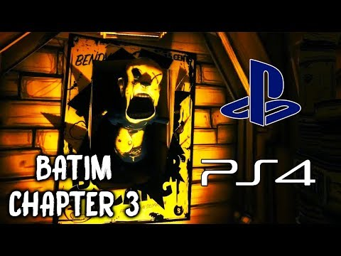 Bendy and the Ink Machine PS4 (CHAPTER 3) | NO COMMENTARY GAMEPLAY