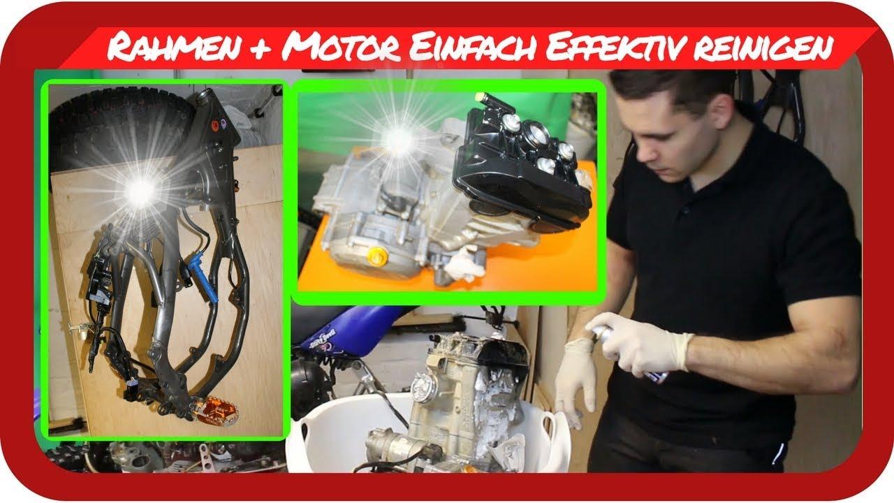 MX Tutorial - Offroad Rahmen + Motor Einfach Effektiv glänzend ...