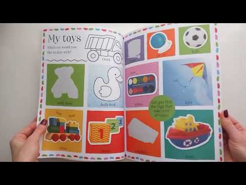 100-first-words-activity-book