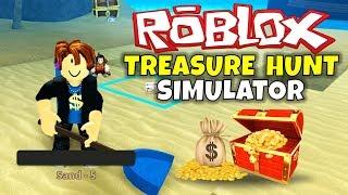 ROBLOX: THE TREASURE HUNT (Schatzsuche Simulator)