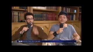 Interview Kev Adams et William Lebghil du 01/09/15 (Aladin)