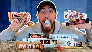 The Ultimate Chocolate Bar Challenge Taste Test!