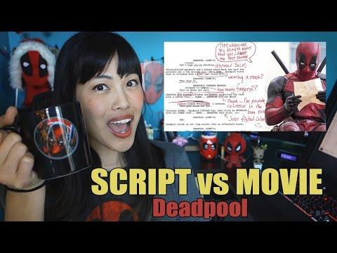 Deadpool SCRIPT vs MOVIE | Breakdown