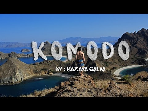Pulau Komodo - Live On Board MURAH!! [GALVACATION #12]