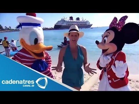 Travesía hacia Las Bahamas en el crucero Disney Magic. De Tour 01/03/14