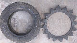 Video How to Make Flower Shape Beautiful Tire Planter / DIY Tire Pot for Garden Using Old Car Rubber Tire download MP3, 3GP, MP4, WEBM, AVI, FLV Agustus 2018