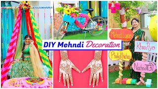 Mehndi DIY Decoration | Ceremony ideas | DIY Queen