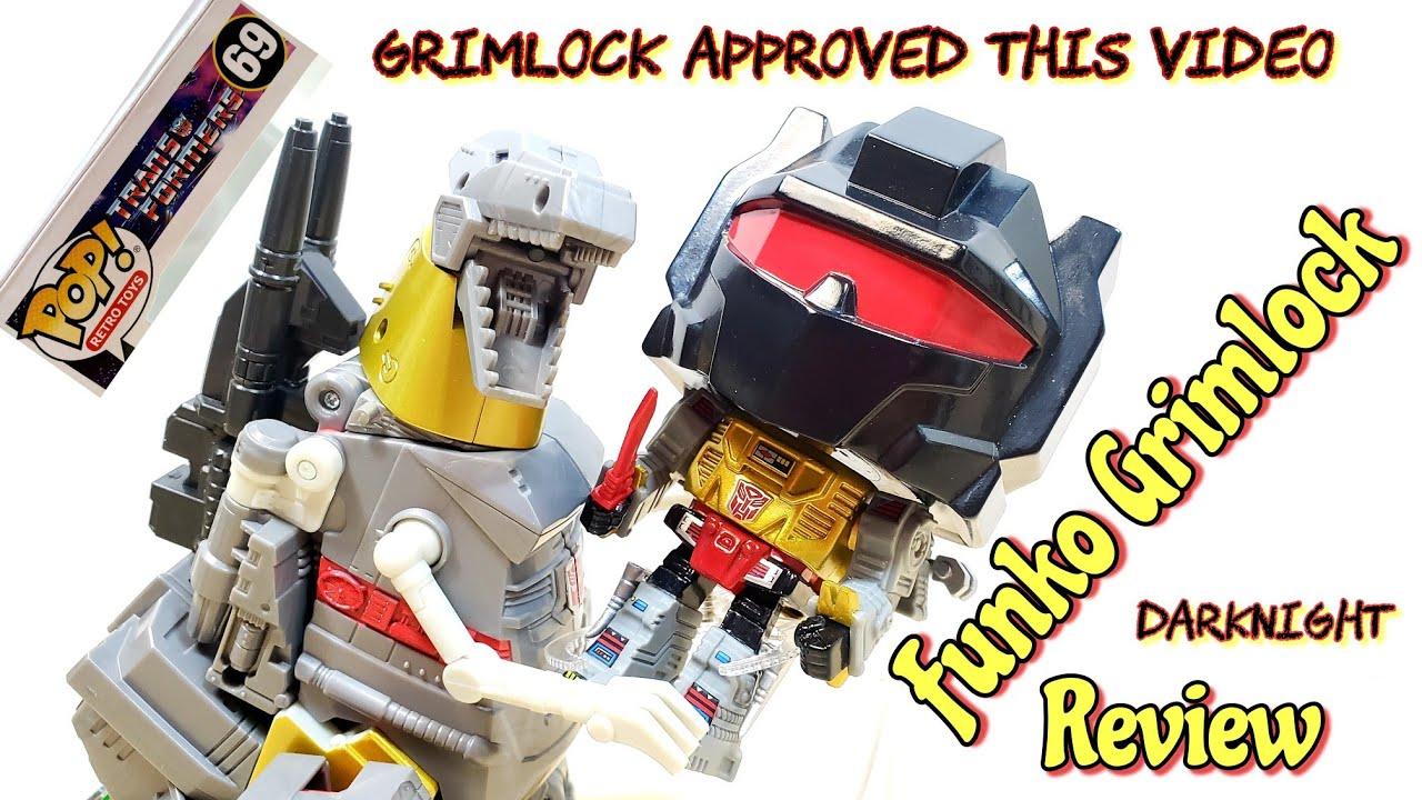 GRIMLOCK Transformers Funko POP Retro Toy Line GameStop Exclusive by DarkNight Reviews