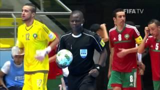 Match 12: Morocco v Azerbaijan - FIFA Futsal World Cup 2016