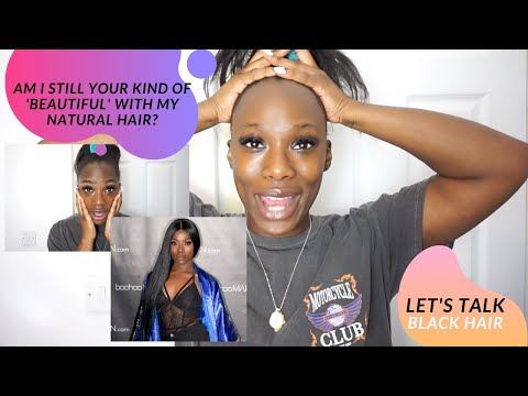LET'S TALK: NATURAL HAIR AND BLACK BEAUTY FT. ABH LUMINOUS FOUNDATION