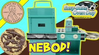 National Easy Bake Oven Day 2017 - Fudgy Chocolate Chip Cookies! Paper Easy Bake! Toy Review Channel