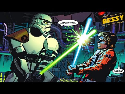 Only Stormtrooper Trained by Darth Vader in Lightsaber Combat(Canon) - Explain Star Wars