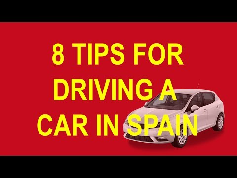 8 Tips For Driving A Car in Spain