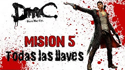 DMC Devil May Cry - Misión 5 Virility Todas Las Llaves/All Keys